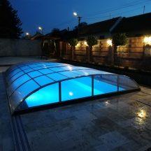 Posuvné zastrešenie bazéna